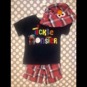 Toddler Boys Sesame Outfit